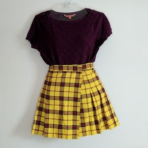 ASOS Plaid Mini Skirt
